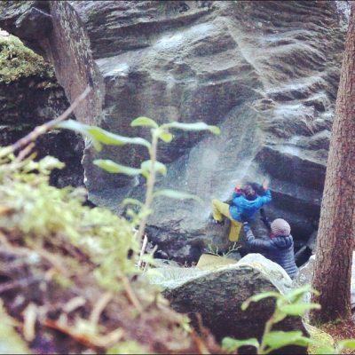 magic wood bouldering, kid climber