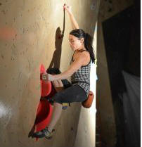 competition climber, women climber boulder, canadian nationals, finals