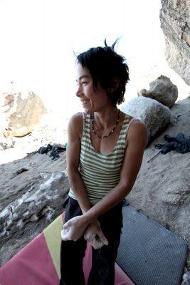 climbing coach, women climber