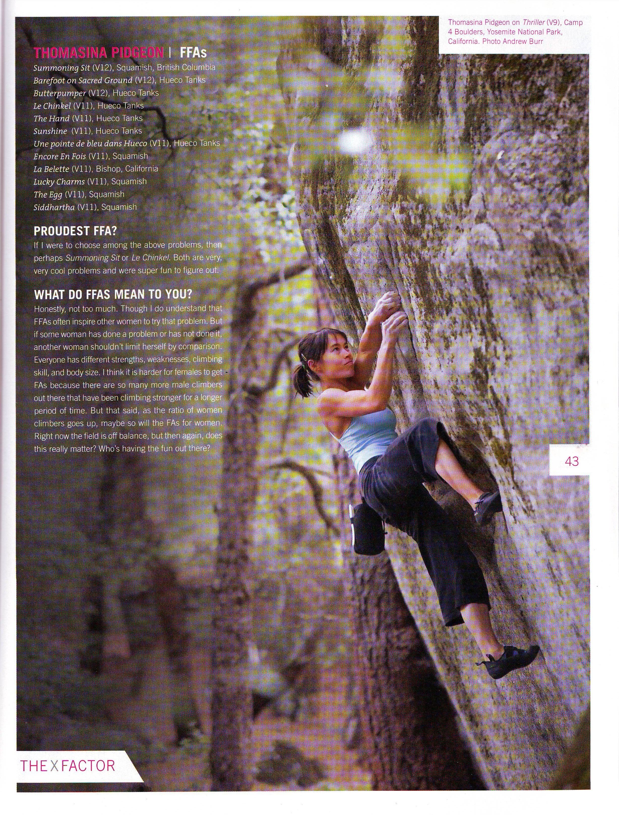 yosemite valley bouldering, v10 women climber, climbing coach