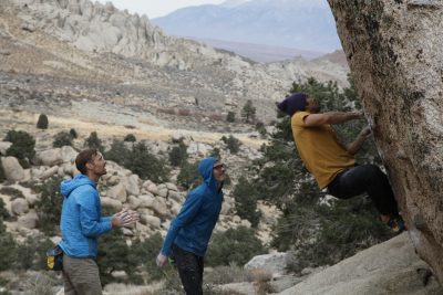 ben ditto, david Gurman, climbers life, bouldering, bishop california