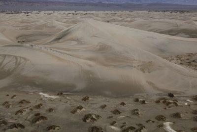 sand, death valley sand dune, van life, climbing