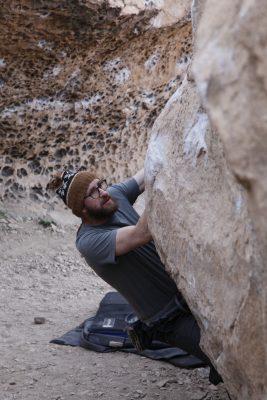 tim stelle, bishop bouldering, happy boulders, climbing coach