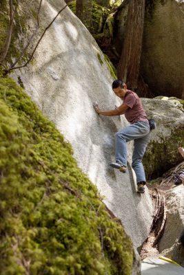 squamish bouldering, climbing coach, coaching for climbing